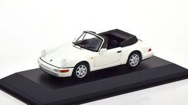 Porsche 911 / 964 Carrera 4 Cabriolet 1989-1994 weiss