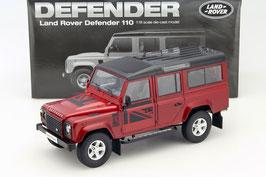 Land Rover Defender 110 1990-2016 LHD dunkelrot met.
