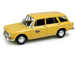 Simca 1300 Break 1965-1966 Postes gelb