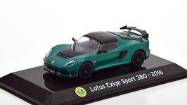 Lotus Exige III Sport 380 2017-2018 dunkelgrün met. / schwarz