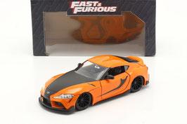 """Toyota Supra GR seit 2020 """"Fast and Furious orange / schwarz"""""""