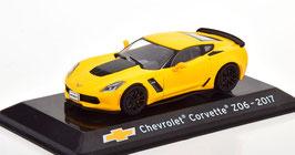 Chevrolet Corvette C7 Z06 2014-2019 gelb met. / schwarz