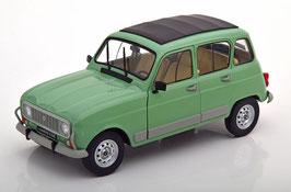 Renault 4 GTL 1978 hellgrün met. / grau / schwarz