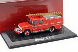 Dodge D-500 Feuerwehr Watou Belgien 1958 rot