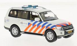 """Mitsubishi Pajero IV Phase II 2012-2018 """"Landelijke Eenheid Politie weiss / orange / blau"""