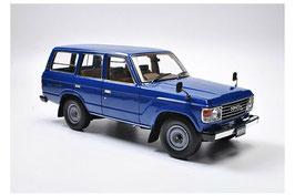 Toyota Land Cruiser J6 1981-1990 RHD dunkelblau