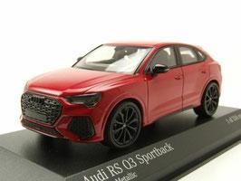 Audi RS Q3 Sportback seit 2020 rot met. / schwarz