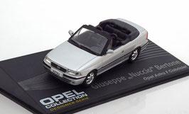 Opel Astra F Cabriolet 1994-2000 silber met. Desinger Giuseppe Bertone