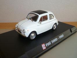 Fiat Nuova 500 1957-1977 weiss / schwarz