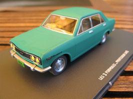 Datsun 510 1967-1972 grün Blake et Mortimer