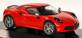 Alfa Romeo 4C Coupé 2013-2020 rot / schwarz
