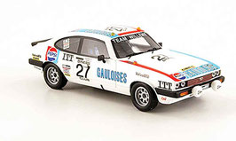 Ford Capri III 3.0S #27 Winner 24h Spa 1978 Spice / Pilette weiss / Decor