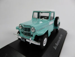 IKA Baqueano 1000 Pick Up Jeep-Willys 1959-1963 türkis / weiss Argentinia