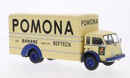 """Saviem LRS Kasten 1958 """"Pomona"""" beige / dunkelblau"""