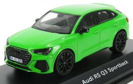 Audi Q3 RS Sportback seit 2020 Kyalami grün met.