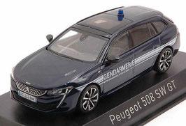 """Peugeot 508 SW II GT seit 2018 """"Gerndarmerie France dunkelblau met. / weiss"""""""