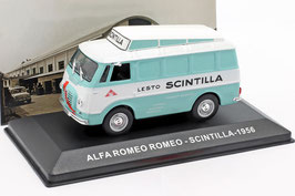 """Alfa Romeo Romeo Van """"Scintilla 1956"""" türkis / weiss"""