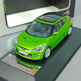 Hyundai Veloster Phase I 2011-2014 grün  met.