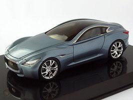 Infiniti Essence Concept Car Salon Genf 2011 grau met.