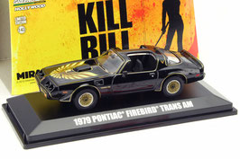 Pontiac Firebird TransAm aus dem Film Kill Bill Volume II 2004 schwarz