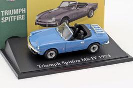 Triumph Spitfire MK IV 1970-1974 hellblau