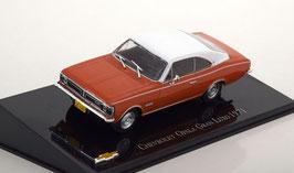 Chevrolet Opala Coupé Gran Luxo 1971- 1975 dunkelorange / weiss Brasil
