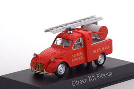 "Citroën 2CV Pick Up 1962 ""Feuerwehr Henflingen rot"""