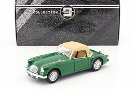 MGA MK I Twin Cam 1958-1960 grün / Softtop geschlossen beige