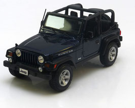 Jeep Wrangler Rubicon open 1997-2006  dunkelblau met.