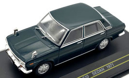 Datsun 510 / Bluebird Sedan Phase II 1971-1973 RHD dunkelgrün