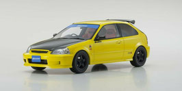 Honda Civic Type-R EK9 1997-2000 gelb / Carbon