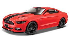 Ford Mustang VI GT Phase I 2014-2017 hellrot / matt-schwarz
