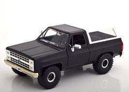 Chevrolet Blazer K5 1980-1982 matt-schwarz / weiss