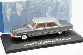 Citroën DS 21 Charles de Gaulle 1969 grau met. / silber met.