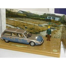 "Citroën CX Break Phase I 1975-1985 ""Chef de Chantier silber met. / hellblau"