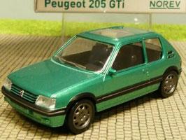 Peugeot 205 GTI 1.9 Phase II 1990-1995 hellgrün met.
