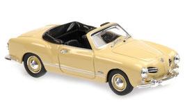 VW Karmann Ghia Typ14 Cabriolet 1957-1966 beige