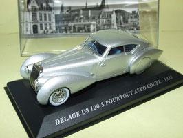 Delage D8 120-S Pourtout Aero 1938 silber