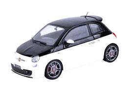 Fiat Abarth 500 2009 weiss / schwarz