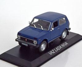 Lada Niva seit 1976 dunkelblau