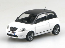 Lancia Ypsilon Phase II 2006-2010 weiss / schwarz