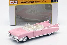 Cadillac Eldorado Biarritz Convertible 1959 Pink