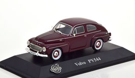 Volvo PV544 1958-1969 dunkelrot met.