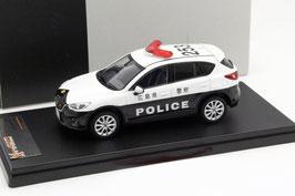 Mazda CX-5 I seit 2011 Polizei Japan RHD schwarz / weiss