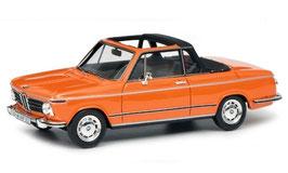 BMW 2002 Cabriolet/Targa Baur 1971-1973 orange / schwarz