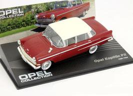 Opel Kapitän P2 1959-1964 dunkelrot / weiss