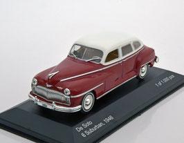 DeSoto 6 Suburban 1947-1954 dunkelrot / weiss