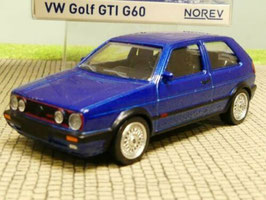 VW Golf II GTI G60 1990-1991 blau met.