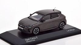 Opel Corsa F -E seit 2019 Mondstein grau met. / schwarz
