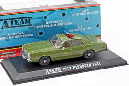 "Plymouth Fury 1975-1978 ""TV-Serie The A- Team 1983-1987 Army oliv"""